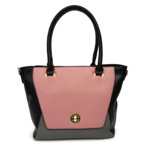 Diophy Medium Top Zip Satchel Handbag