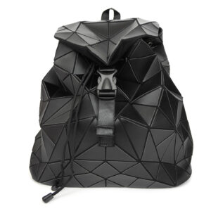Vegan Matte Finish Faux Leather Backpack
