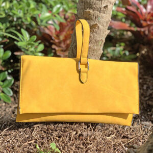 Handbag Republic Convertible Small Faux Leather Handbag - Yellow